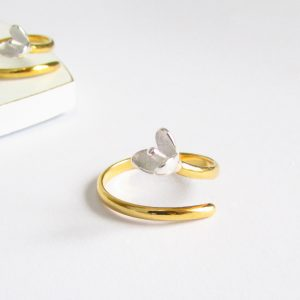 'Little Bud' Sterling Silver Ring by EVY Designs Ltd